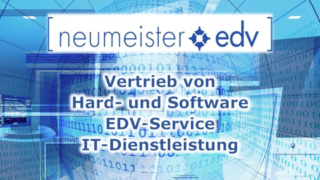 EDV-Service IT-Dienstleistungen Neumeister EDV Reutlingen Jürgen Neumeister Vertrieb von Hardware